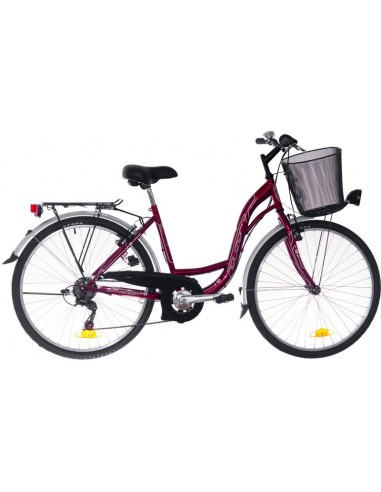BICICLETA DAMA NEUZER CITY 6SP - 26''